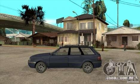 Audi 80 B4 Avant para GTA San Andreas esquerda vista