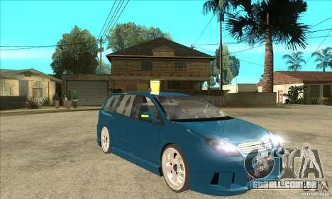 Citroen C5 Break para GTA San Andreas vista traseira
