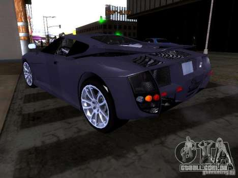 B Engineering Edonis para GTA San Andreas vista interior