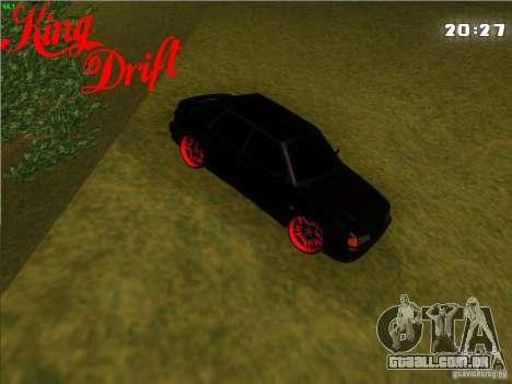 Ваз diabo 2114 estilo para GTA San Andreas traseira esquerda vista