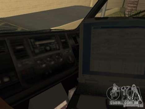 London Ambulance para GTA San Andreas vista direita