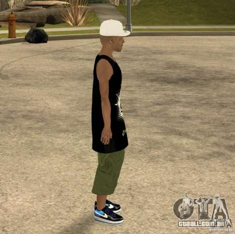 Cone Crew Skin para GTA San Andreas quinto tela
