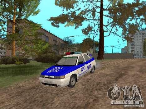 DPS VAZ 21124 para GTA San Andreas