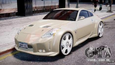Nissan 350Z Veilside Tuning para GTA 4 esquerda vista