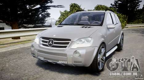 Mercedes-Benz ML63 AMG v2.0 para GTA 4