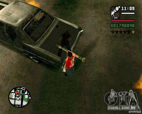 Plymouth Fury III para GTA San Andreas vista direita