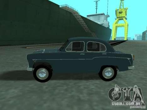 Moskvich 407 para GTA San Andreas esquerda vista