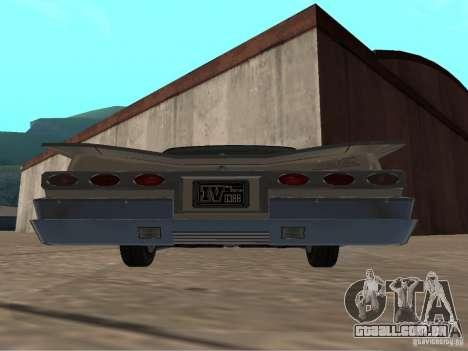 Vodu do GTA 4 para GTA San Andreas vista direita