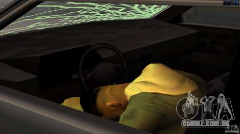 Morte no carro para GTA San Andreas terceira tela
