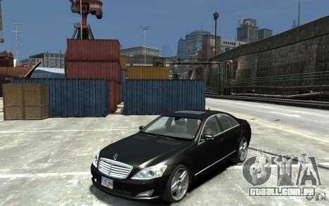 Mercedes-Benz S Class W221 para GTA 4