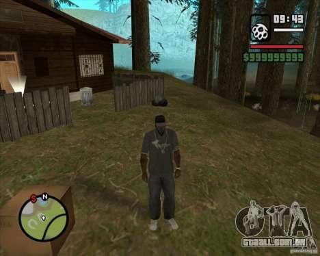 Casa caçador v 2.0 para GTA San Andreas por diante tela
