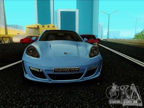 Gemballa Mistrale 2010 V1.0 para GTA San Andreas esquerda vista