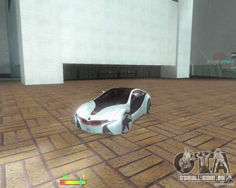 BMW i8 para GTA San Andreas vista direita