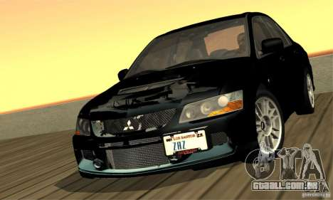 ENBSeries RCM para o PC fraco para GTA San Andreas sexta tela