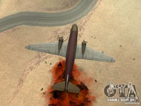 Bombas para os aviões para GTA San Andreas sétima tela
