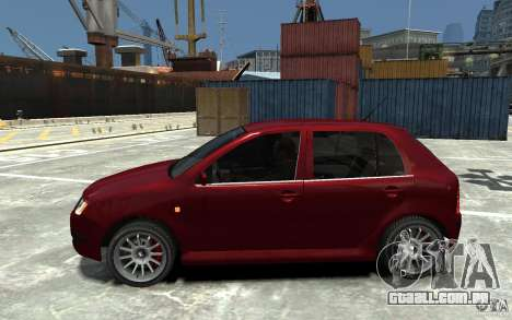 Skoda Fabia para GTA 4 esquerda vista