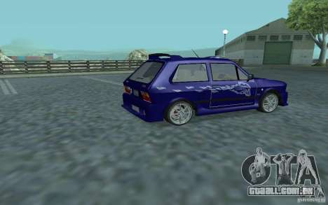 Yugo 45 Tuneable para GTA San Andreas vista traseira