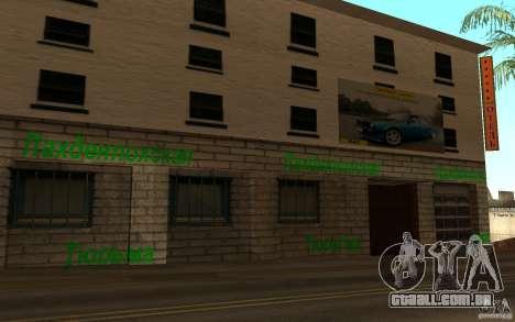 Nova rua da praia para GTA San Andreas quinto tela