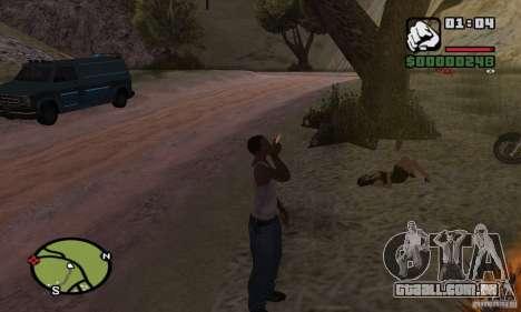Relaxamento no vale para GTA San Andreas segunda tela