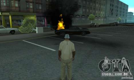 New Effects para GTA San Andreas por diante tela