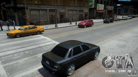 Lada Priora Light Tuning para GTA 4 vista lateral