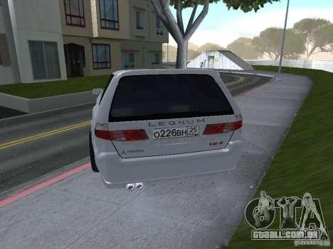 Mitsubishi Legnum para GTA San Andreas esquerda vista