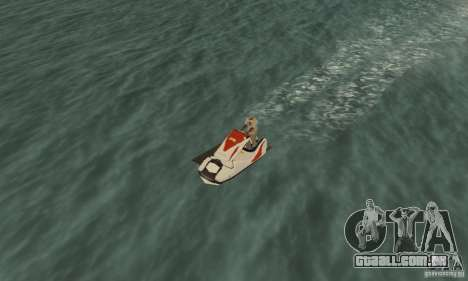 Hydrocycle para GTA San Andreas