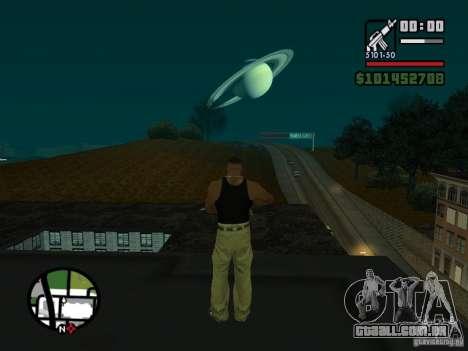 Saturn Mod para GTA San Andreas