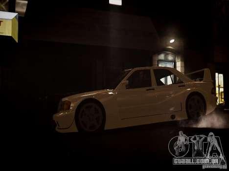 Mercedes 190E Evo2 para GTA 4 traseira esquerda vista
