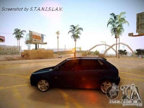 Volkswagen Golf V2.0 Final para GTA San Andreas vista direita