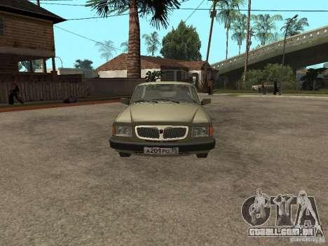 GAZ 3110 v 1 para GTA San Andreas vista direita