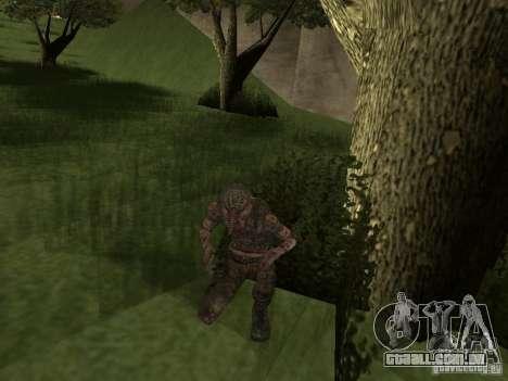 Snork de S.T.A.L.K.E. r para GTA San Andreas segunda tela