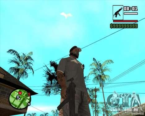 MP5 para GTA San Andreas segunda tela