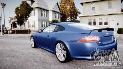 Jaguar XKR-S 2012 para GTA 4 rodas