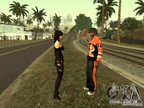 Girls from ME 3 para GTA San Andreas nono tela