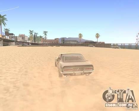 ENBSeries By Krivaseef para GTA San Andreas por diante tela