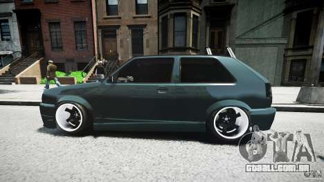 Volkswagen Golf 2 Low is a Life Style para GTA 4 vista superior