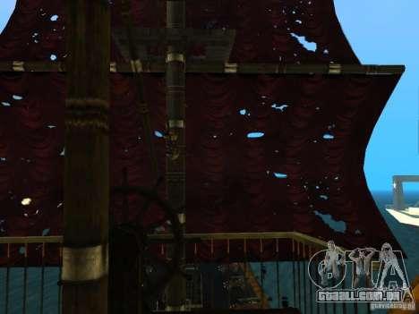 Queen Annes Revenge para vista lateral GTA San Andreas