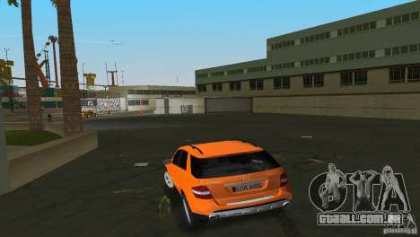Mercedes-Benz ML 500 para GTA Vice City vista direita