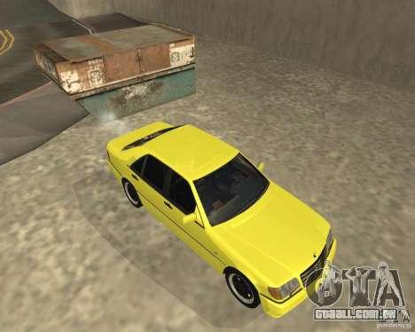 Mercedes Benz 600SEL AMG V140 para GTA San Andreas vista direita