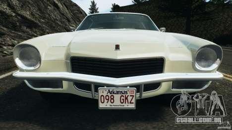Chevrolet Camaro 1970 v1.0 para GTA 4