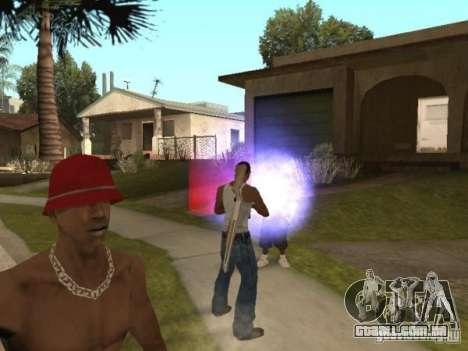 Raid para GTA San Andreas por diante tela