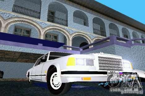 ZIL 41047 para GTA Vice City deixou vista