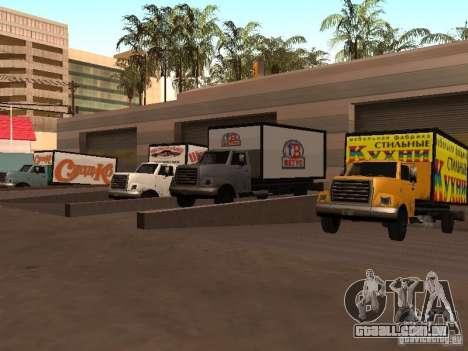 Yankee RUS para GTA San Andreas vista traseira