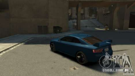 Audi S5 para GTA 4 esquerda vista