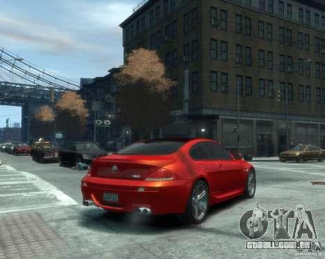 BMW M6 2010 v1.1 para GTA 4 vista direita