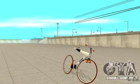 Nulla 2009 Mt Bike para GTA San Andreas esquerda vista