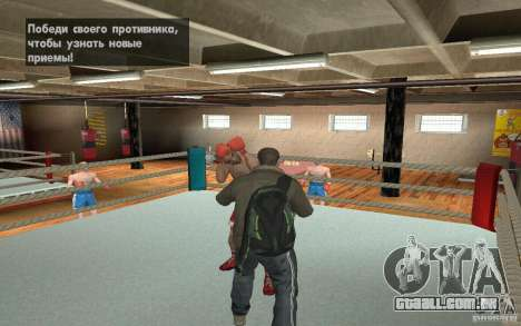 O sistema de luta do GTA IV V 3.0 para GTA San Andreas