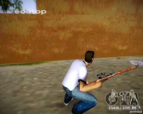 Mosin-Nagant para GTA Vice City por diante tela