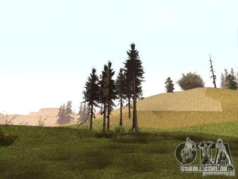 Escolher qualquer clima para GTA San Andreas oitavo tela
